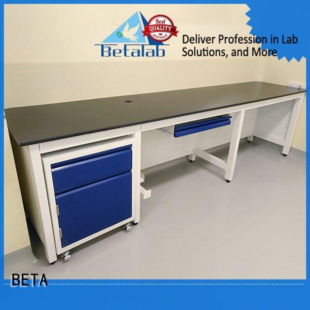 BETA Brand lab steel laboratory furniture manufacturers biologic working