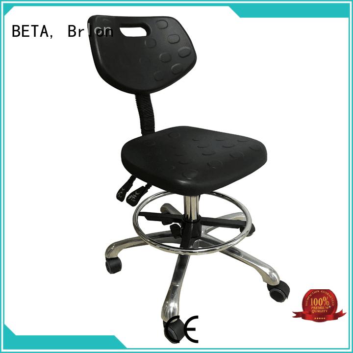 BETA, Brlon steel lab stools adjustment computer