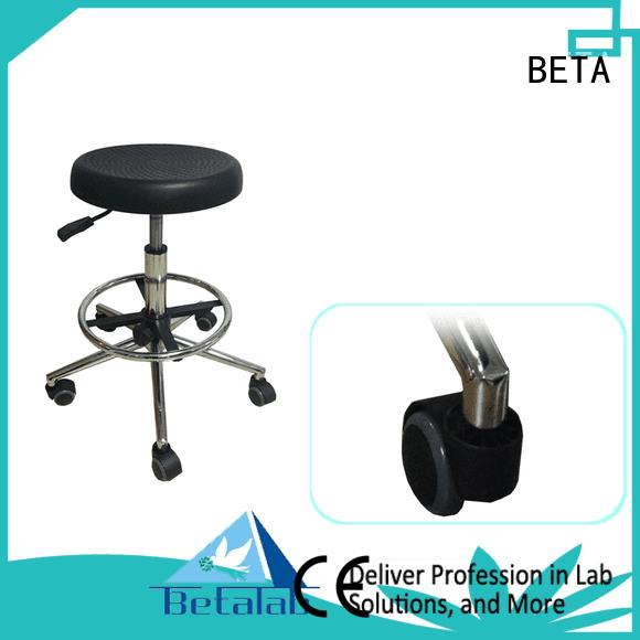 BETA castors adjustable lab stools computer stool