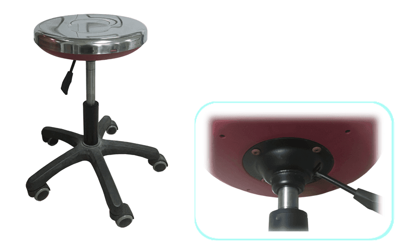castors design BETA lab chairs