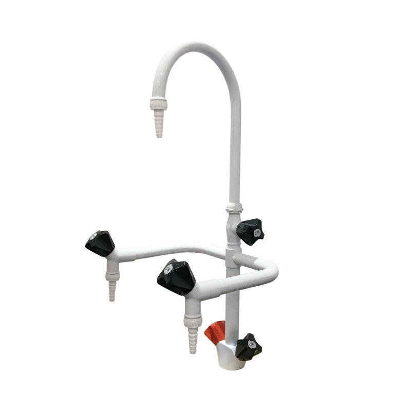 Triple-way Brass Faucet Lab Faucet Lab Water Tap