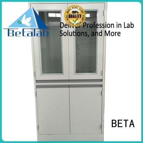 BETA Brand lab vessel glassware chemical storage cabinets storage