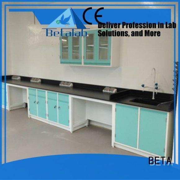 BETA laboratory furniture manufacturers table biologic working biochemistry
