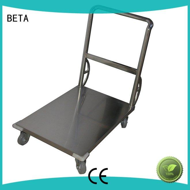 stainless lab stainless steel trolley BETA