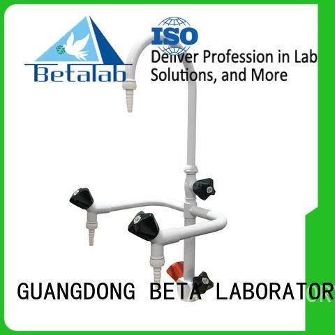 BETA Brand rack brass laboratory fittings valve equipment