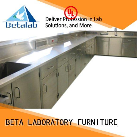bench floor work lab BETA laboratory furniture manufacturers