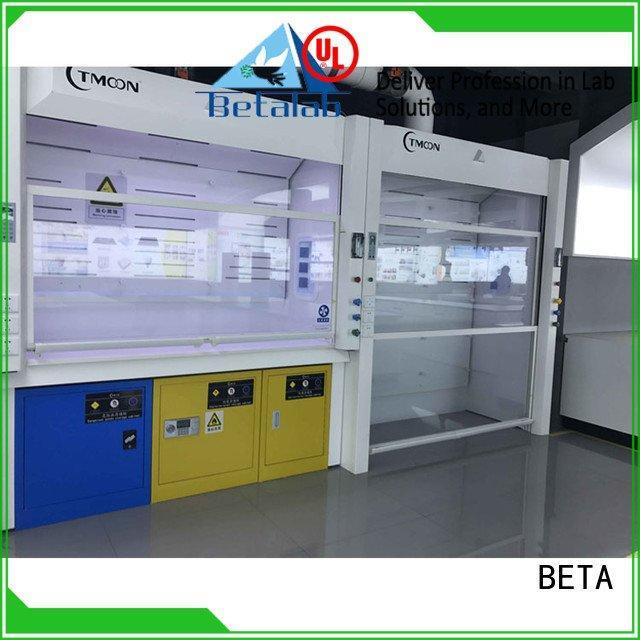 cupboard C-Frame exhaust lab fume hood BETA