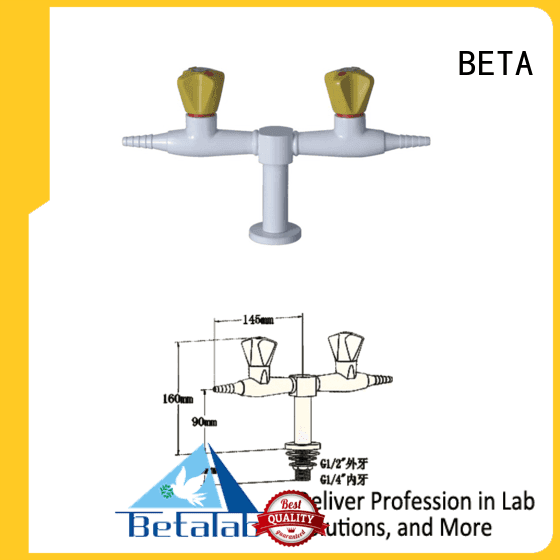 BETA Brand drip triplehead brass laboratory fittings lab