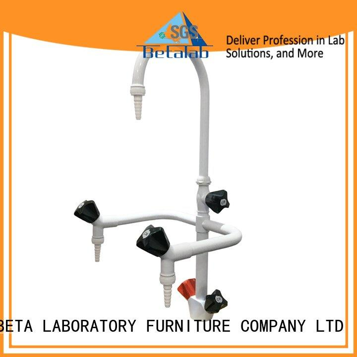 Lab fittings supplier brass pp OEM laboratory fittings BETA