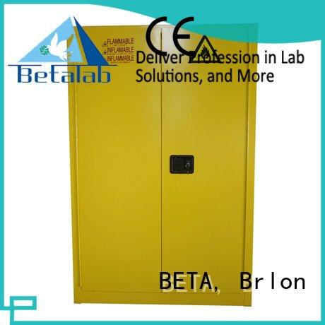 Custom chemical storage cabinets reagent shelves
