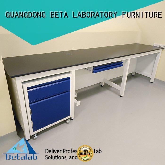 BETA lab chemical laboratory furniture manufacturers working durable