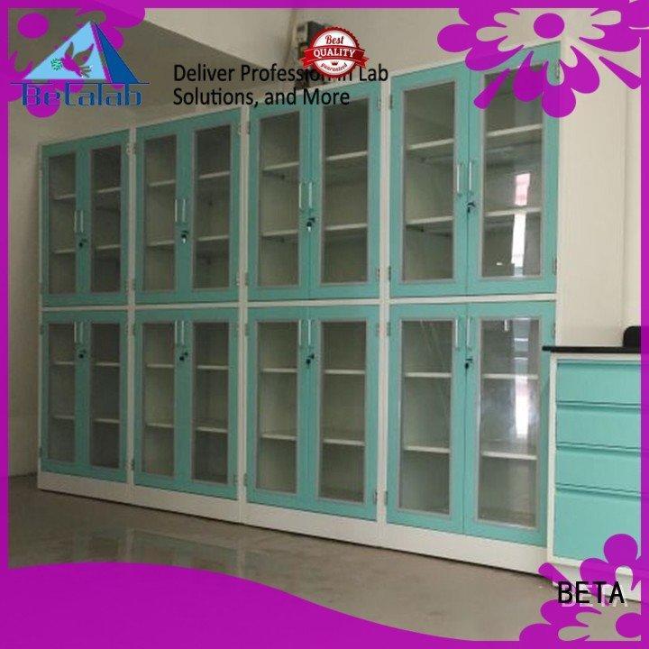 BETA Brand reagent shelves chemical storage cabinets storage lab