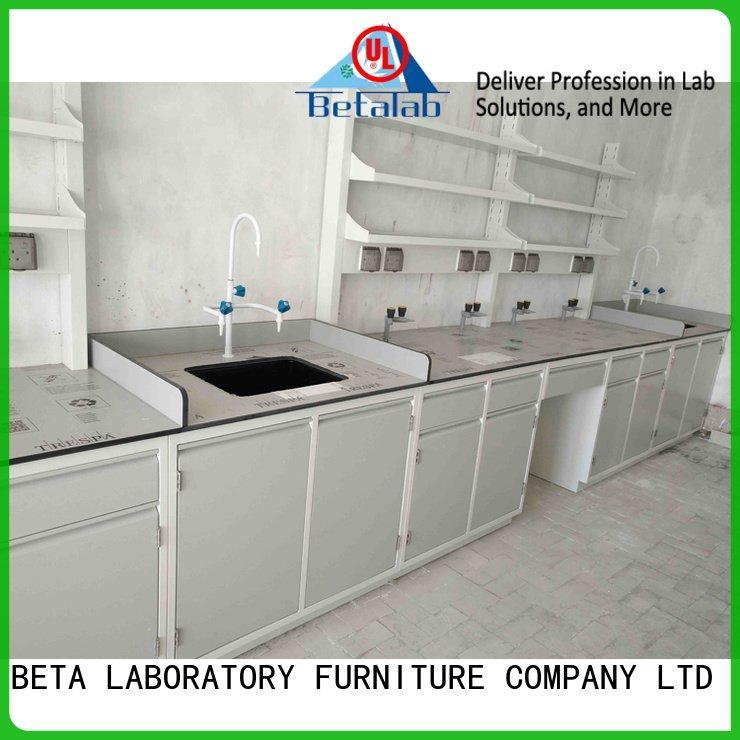 BETA Brand quality laboratory furniture manufacturers structure full
