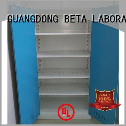 BETA Brand vessel Storage Cabinet reagent shelves