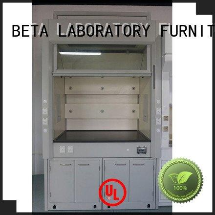Hot lab fume hood Wood H-Frame cupboard BETA Brand