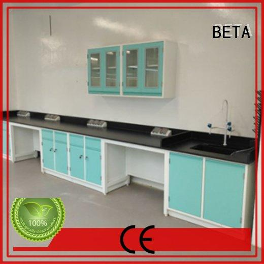 BETA Brand bench laboratory furniture manufacturers biologic lab