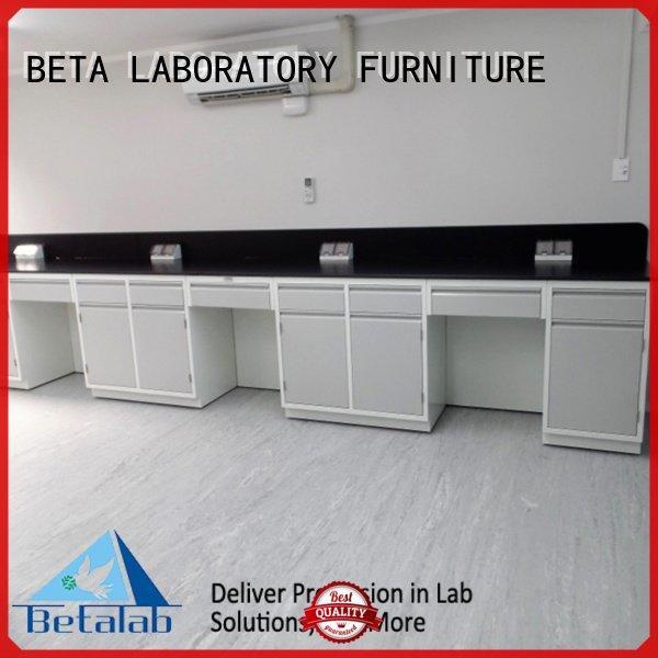 BETA hframe durable laboratory furniture manufacturers table floor