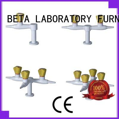 Lab fittings supplier pp laboratory fittings rack
