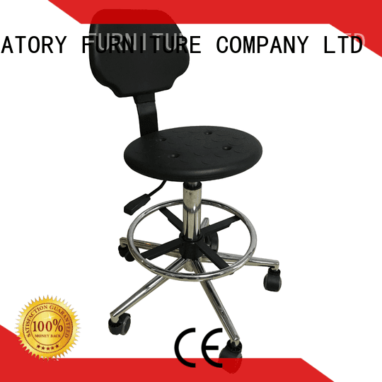 Custom height lab stools armrest lab chairs