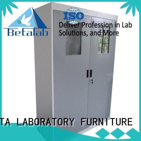 BETA glassware chemical storage cabinets adjustable lab