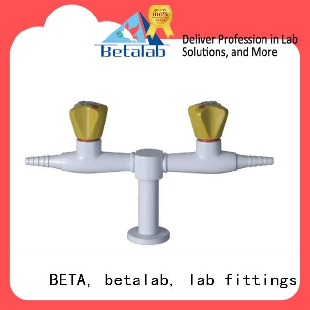 flexible natural gas valve from China for laboratory furniture BETA, betalab, lab fittings