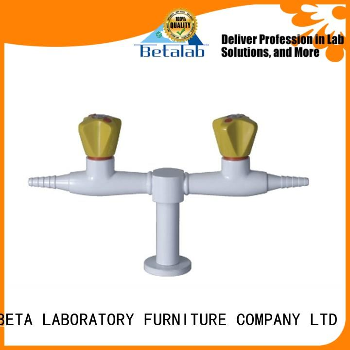 faucet valve doublehead benchtop BETA, betalab, lab fittings Brand laboratory supplies