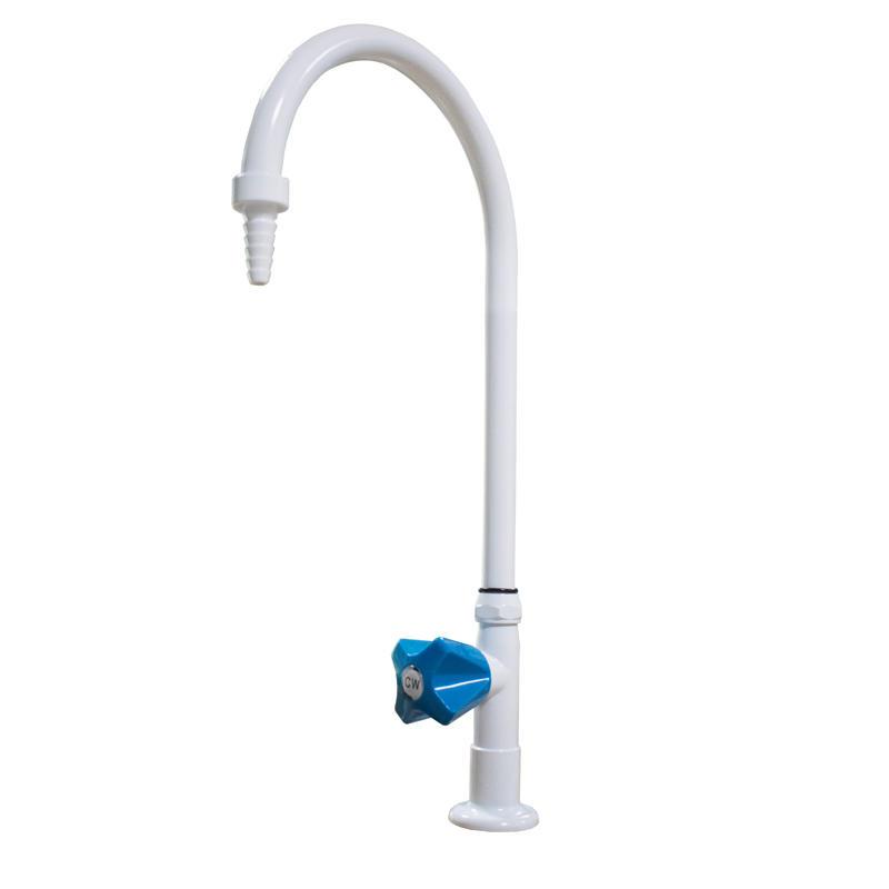 Lab Popular Single Way Faucet Bench-top Gooseneck Water Tap