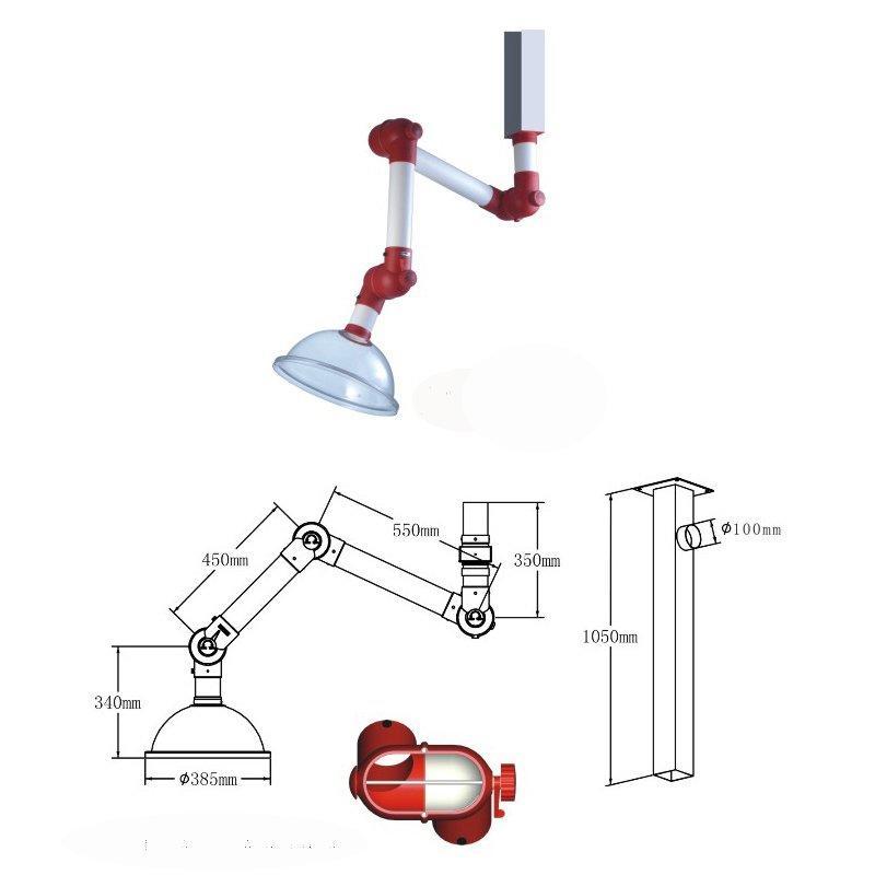 K-75 Universal Fume Extraction Hood