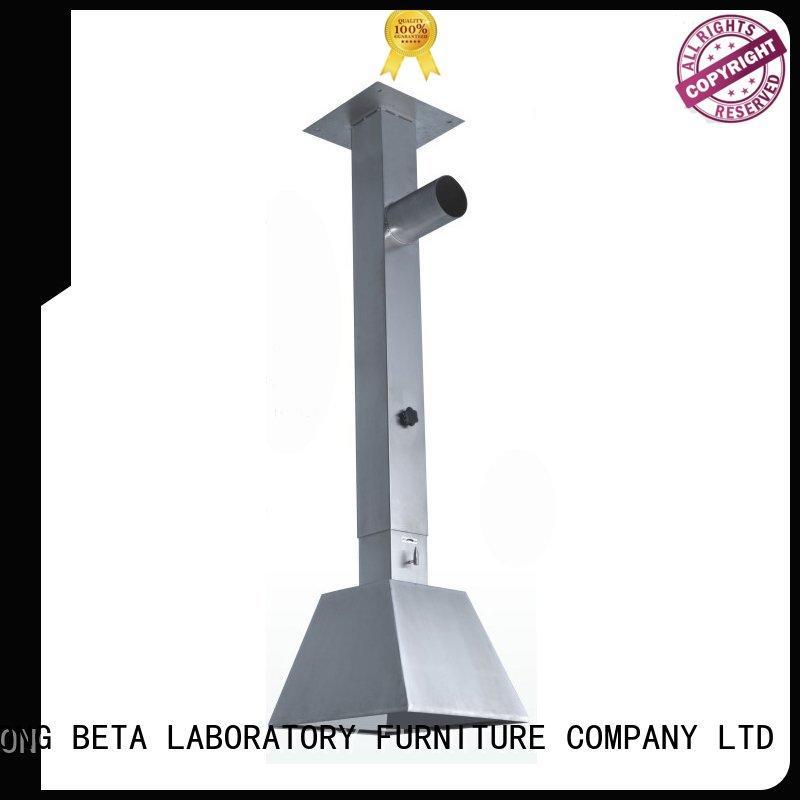 BETA, betalab, lab fittings flexible fume hood design manufacturer for institute