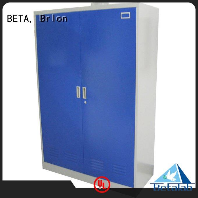 BETA, Brlon Brand vessel shelves adjustable chemical storage cabinets reagent