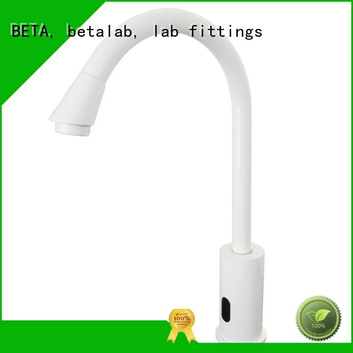 double outlet lab faucet factory manufacturer for institute BETA, betalab, lab fittings